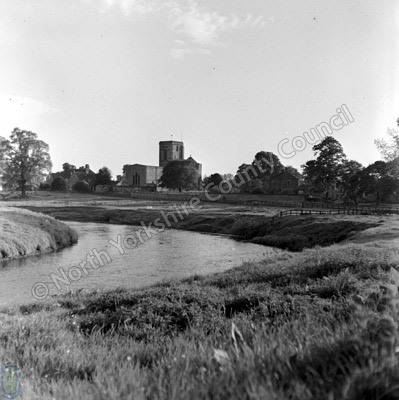 River Derwent and Old Malton Church